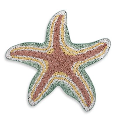 Coastal Pebble Starfish Wall Art