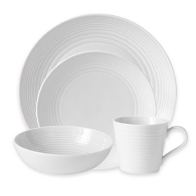Gordon Ramsay by Royal Doulton® Maze 4-Piece Place Setting in White