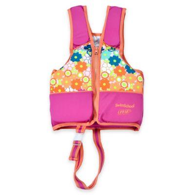 Aqua Leisure® SwimSchool® Small Printed Swim Vest in Pink