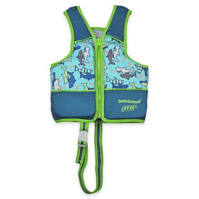 Aqua Leisure® SwimSchool® Small Printed Swim Vest in Blue