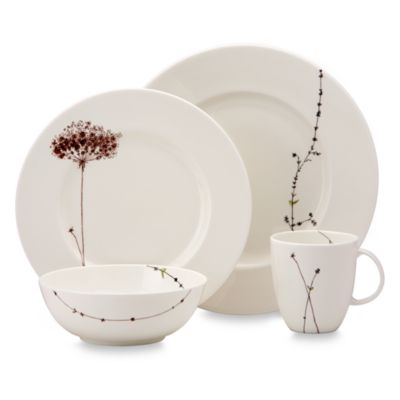 Simply Fine Lenox® Flourish 4-Piece Place Setting