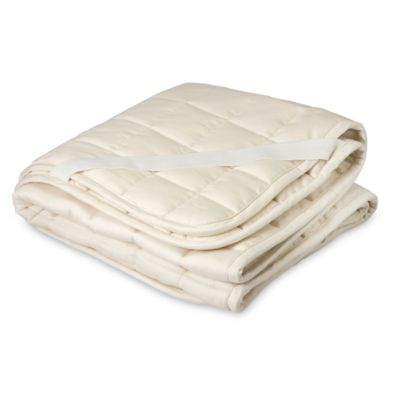 Greenbuds Organic Cotton/Wool Crib Mattress Topper