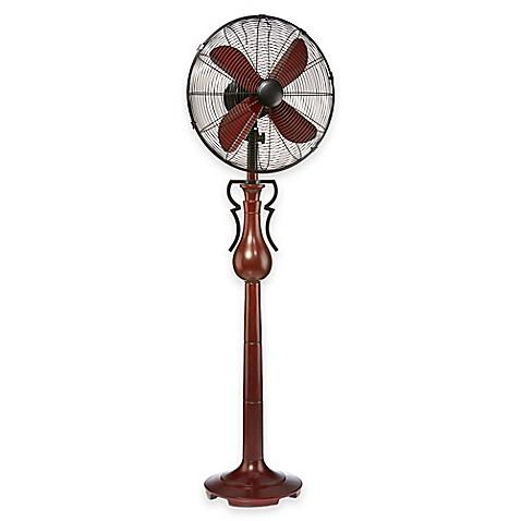 Jackson 16 inch 3 speed oscillating floor fan in maroon for 16 floor fan