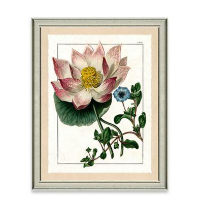 Framed Giclee Wild Flower Print Wall Art III