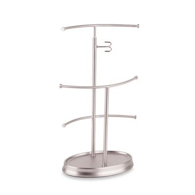 Harmony Metal Jewelry Stand in Nickel