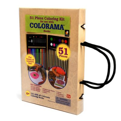 Colorama™ 51 Piece Coloring Kit
