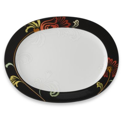 Noritake® Tempo Collection Swing 14-Inch Oval Platter