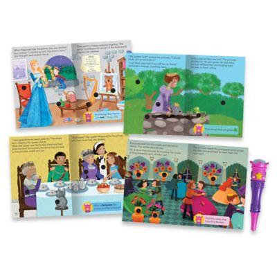 Educational Insights® Hot Dots® Jr. Princess Fairy Tales Interactive Storybooks (Set of 4)