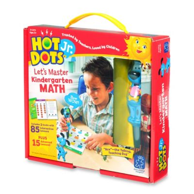 Educational Insights® Hot Dots® Jr. Let's Master Kindergarten Math