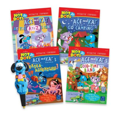 Educational Insights® Hot Dots® Jr. Storybooks 4-Book Set with Ace Pen