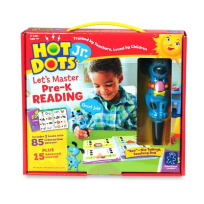 Educational Insights® Hot Dots® Jr. Let s Master Pre-K Reading