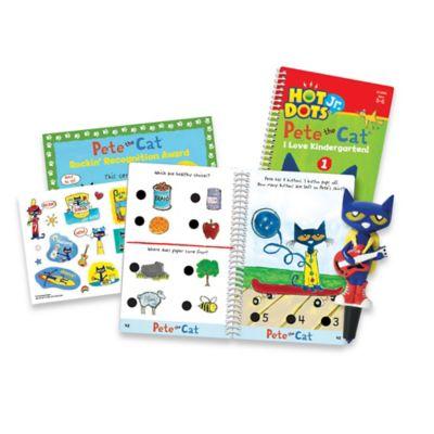 Educational Insights® Hot Dots® Jr. Pete the Cat® I Love Kindergarten Set