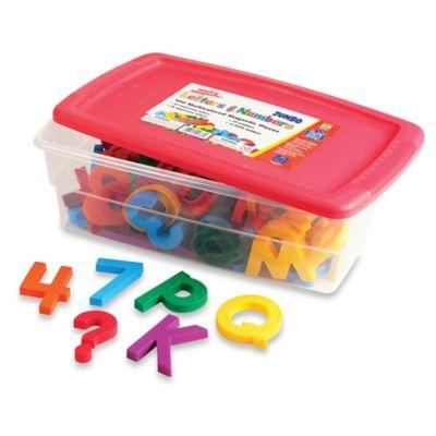 Educational Insights® Jumbo AlphaMagnets® & MathMagnets® Combo Set