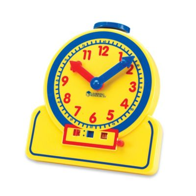 Learning Resources Primary Time Teacher™ Student Learning Clock