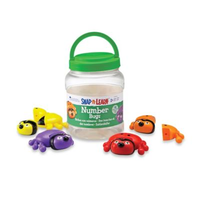 Learning Resources® Snap-N-Learn™ Number Bugs