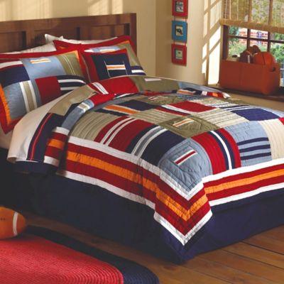 Ronnie Patchworks Twin Quilt Set