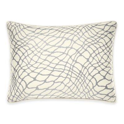 Jeffrey Alan Marks for Inspired By Kravet Chromis Boudoir Throw Pillow in White