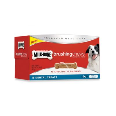 Brushing Chews® 14.4 oz. Chicken Small/Medium Daily Dental Treats
