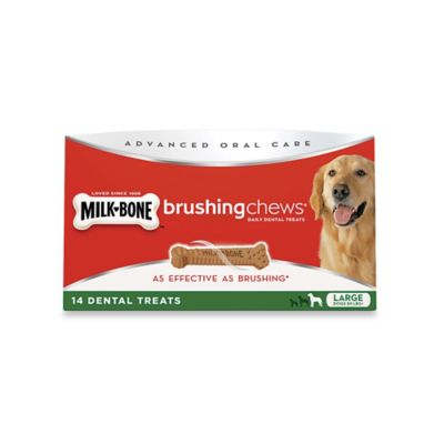 Brushing Chews® 19.3 oz. Chicken Large Daily Dental Treats