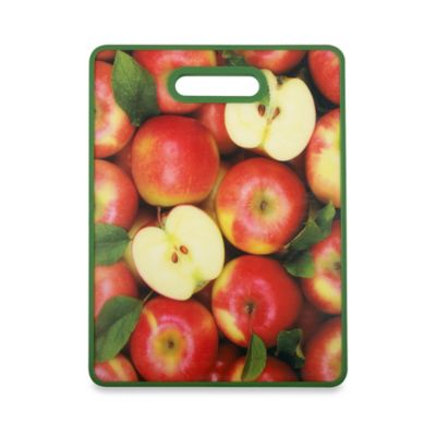 Apples Fruit and Veggie Cutting Board