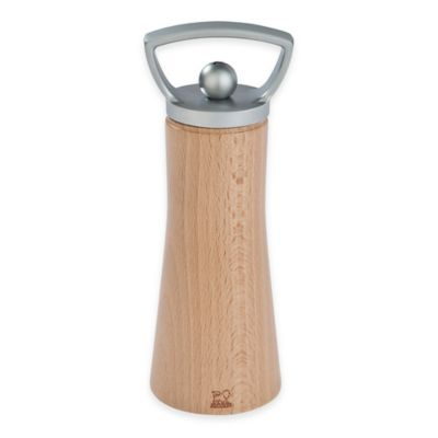 Peugeot Ales Natural Wood Salt Mill