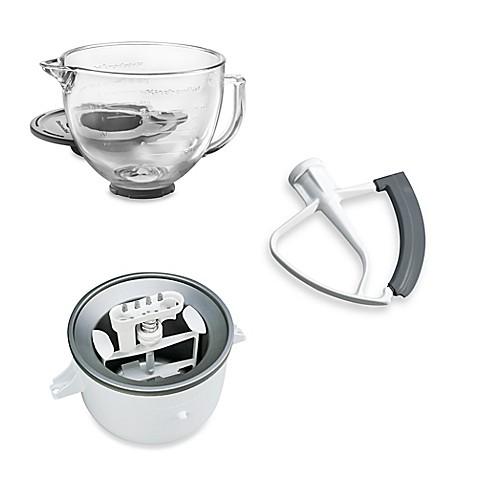 Kitchenaid 174 5 Quart Artisan Custom Metallic Stand Mixer Accessories Collection Bed Bath Amp Beyond