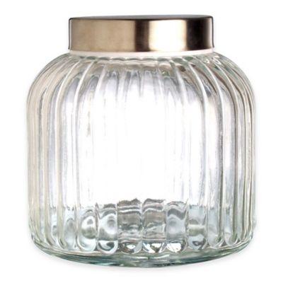Vintage 104 oz. Glass Canister
