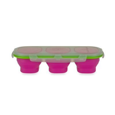 SmartPlanet Portion Perfect Snack Perfect on the Go Kit in Pink/Green