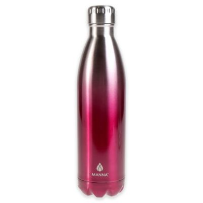 25 oz. Double Wall Stainless Steel Vogue Bottle in Merlot