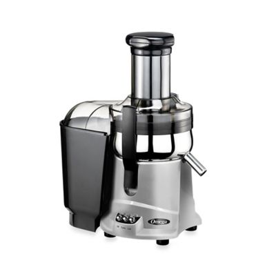 Omega® HD Dual Speed Mega Mouth Juicer in Chrome