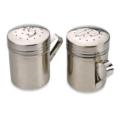Stainless Steel Salt & Pepper Shakers