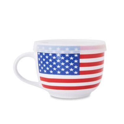 Pfaltzgraff® American Flag Soup Mug