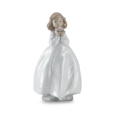 "Nao® by Lladro ""Flower Girl"" Porcelain Figurine"