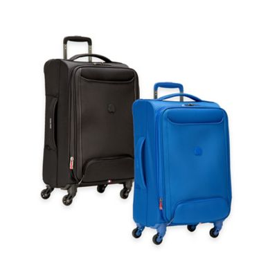 DELSEY Chatillon 21-Inch Expandable 4-Wheel Spinner Carry On in Black