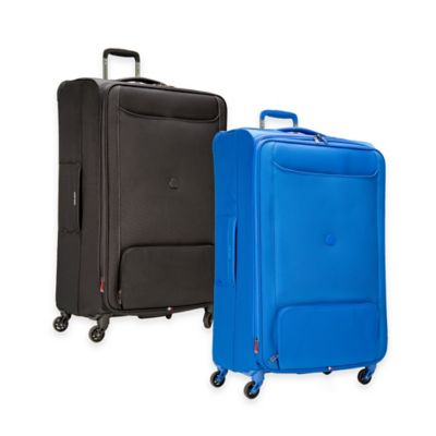 DELSEY Chatillon 29-Inch Expandable 4-Wheel Spinner Suitcase in Black