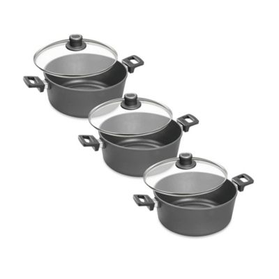 Woll® nowo Titanium Nonstick 4.75 qt. Covered Stock Pot