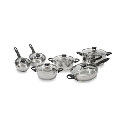 BergHOFF® Ostend 12-Piece Stainless Steel Cookware Set