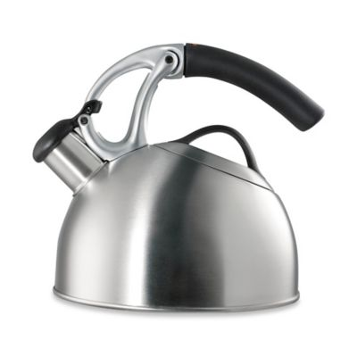 Brushed Stainless Steel Tea Kettles