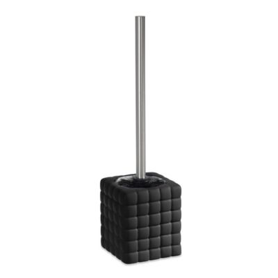 Cube Toilet Bowl Brush in Black