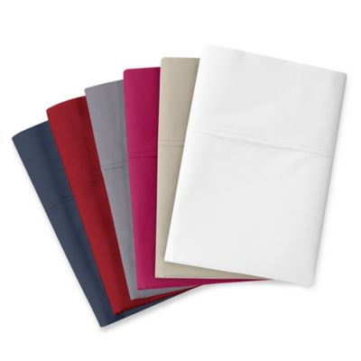 Silky Soft 400-Thread-Count Twin Sheet Set with True Grip® Fitted Sheet in Navy