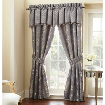 Waterford® Linens Manor House Scalloped Window Valance