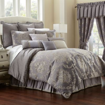 Waterford® Linens Manor House Queen Reversible Duvet Cover