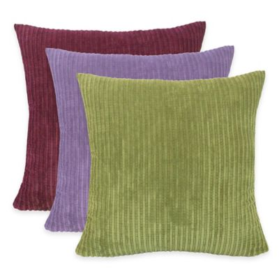 Eggplant Throw Pillows