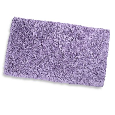 Shaggy Raggy Accent Rug in Lavender