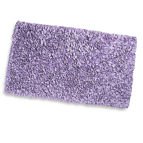 Lavender Shaggy Raggy 4-Foot 7-Inch x 7-Foot 7-Inch Accent Rug
