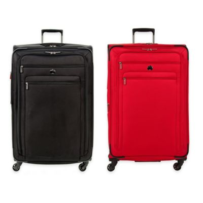 DELSEY Helium Sky 2.0 29-Inch Expandable 4-Wheel Spinner Suitcase in Black