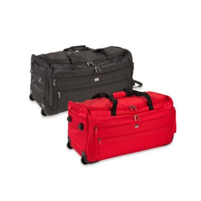 DELSEY Helium Sky 2.0 28-Inch Trolley Duffle in Black