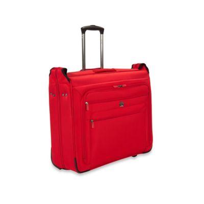 DELSEY Helium Sky 2.0 Trolley Garment Bag in Red