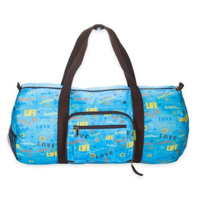 Sacs Collection by Annette Ferber Full-Size Collapsible Duffle in Love Dream Blue