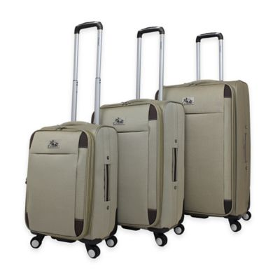 Chariot Milan 3-Piece Luggage Set in Black